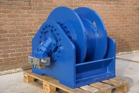 20 ton hydraulische lier met smalle trommel