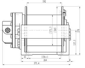 2 ton hydraulische lier 22-19