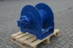 2,5 ton hydraulische lier met ruime draadberging 3-25
