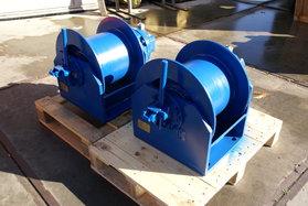 2,5 ton hydraulische lier met vrijloop 3-25