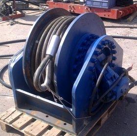 20t hydraulische lier