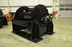 Mooring system 4x30 ton hydraulische lier (voorraad)