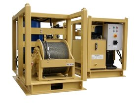 5 tonnes turn-key hydraulic winch unit
