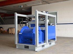 8 Tonnen hydraulische Winde