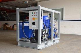 8 tonnes turn-key hydraulic winch unit