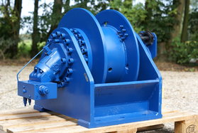 10 tonnes hydraulic winch 344-100