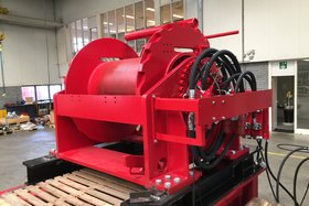 50 tonnes hydraulic winch with ratchet 488-500