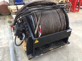 20 ton hydraulische lier 355-200 met drum guard