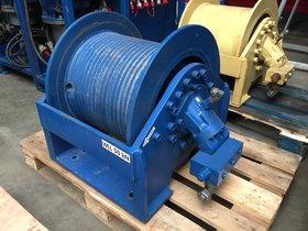7t hydraulic winch