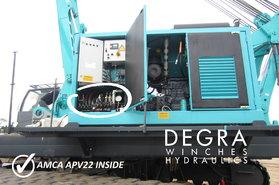 Diesel Hydraulische Unit voor heikraan