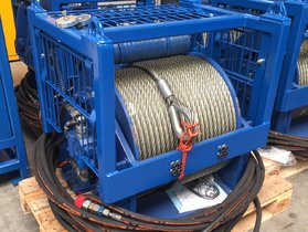10 ton hydraulische lier 34-100
