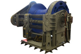 35 tonnes hydraulic winch with band brake