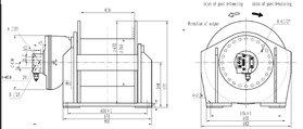 5 ton hydraulische lier 4-50