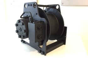 500 kg hydraulic winch TN04