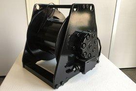 1 ton hydraulische lier MW09