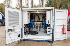 4 x 45 kW electric hydraulic power pack