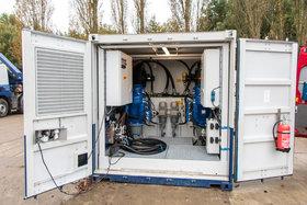 4 x 45 kW Elektrisch Hydraulisch Aggregaat