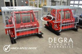 50 ton hydraulische lier 488-500