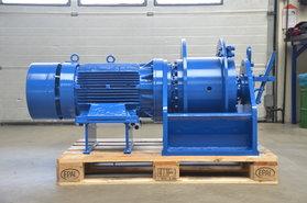 6 ton elektrische lier met vrijloop