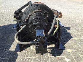 25t hydraulische lier
