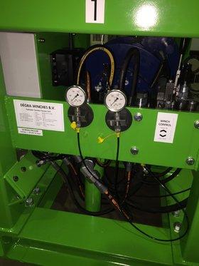 5 Ton Hydraulisch Constant Tension Unit