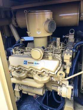 CAT 3208 Hydraulisch Dieselaggregaat