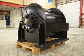 20 Ton hydraulische lier