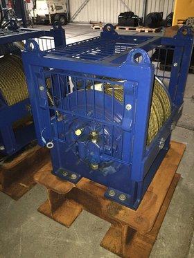 2x 10T hydraulische lier
