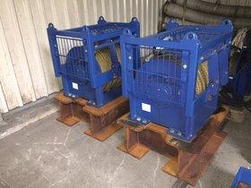 2x 10T hydraulic winch