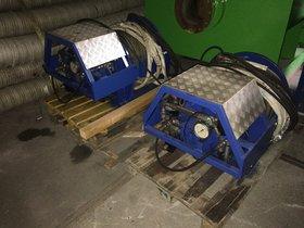 2x5T used hydraulic winches