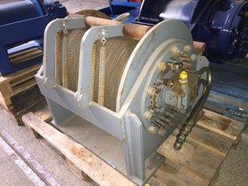 10T hydraulic winch