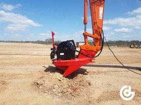 De Excavator Winch System