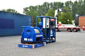 Set 12 ton hydraulische lier met EHPU22