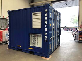 Powerunit 2x45 kW container EHPU