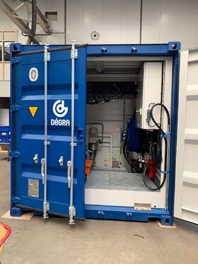 Leistungsteil 2x45 kW Container EHPU