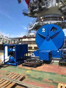 30 ton hydraulische lier