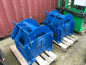 16 ton hydraulische lier