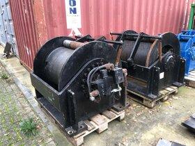 25 ton hydraulische lier